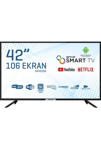 """Onvo OV42250 42"""" 106 Ekran Uydulu Full HD Android Smart LED TV"""