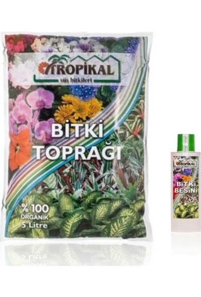 e-Botanik e-Botanik Organik Genel Bitki Toprak 5 lt ve Genel Bitki Besini 225 ml