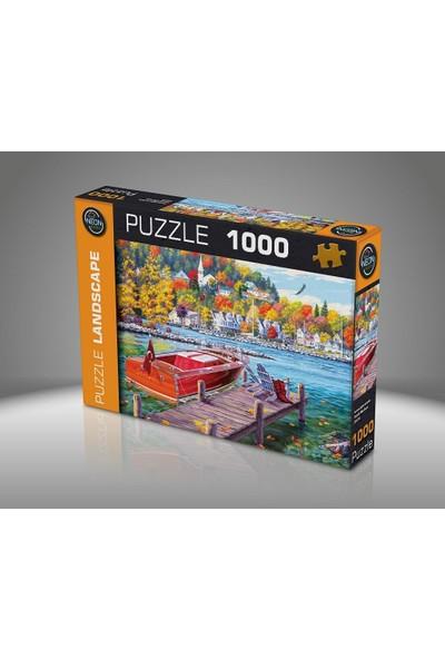 Neon Puzzle Landscape Rıhtımda Huzur 1000 Parça