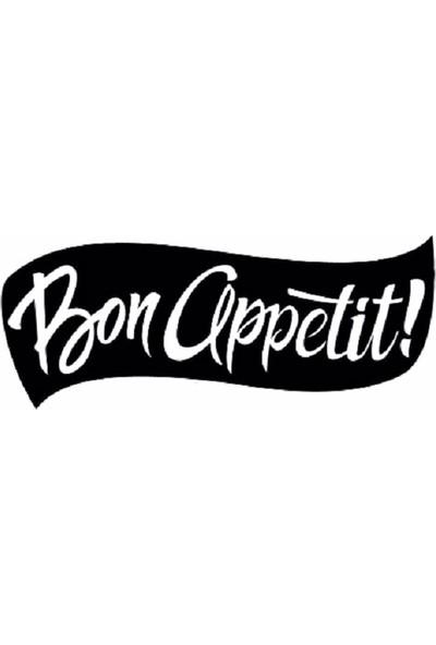 Oteberry Bon Appetit Duvar Yazısı Dekoru