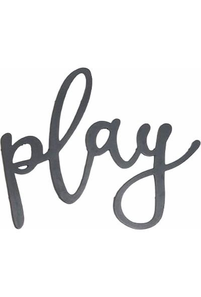 Oteberry Play Yazı Duvar Dekoru