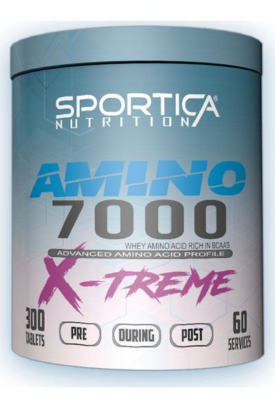 Sportica Nutrition Amino 7000 X-Treme 300 Tablet