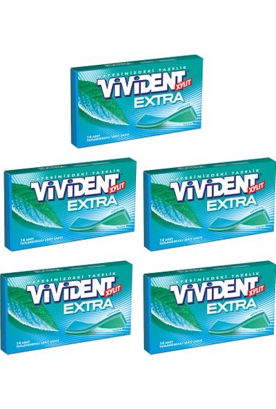 Vivident Cüzdan Extra Nane 5'li x 26 gr