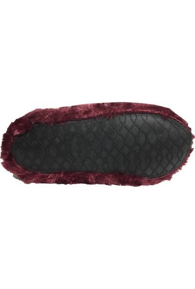 Akınal Kadın Peluş Panduf Ev Botu Ev Ayakkabısı