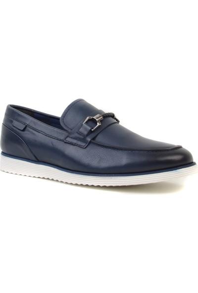 Marcomen - Lacivert Erkek Loafer Ayakkabı