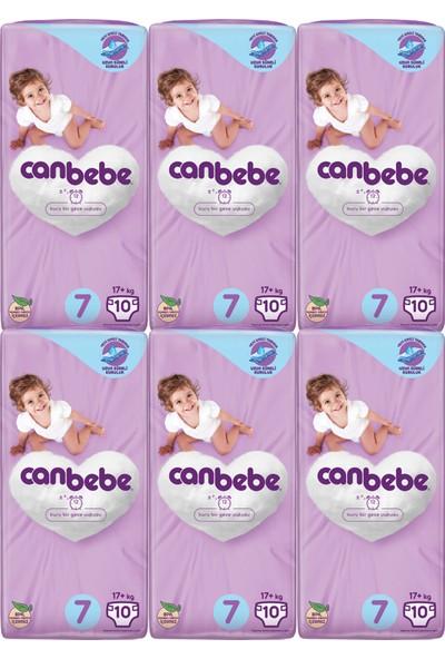 Canbebe 7 Numara Başlangıç Paketi 17+ kg 6 Paket 60 Adet