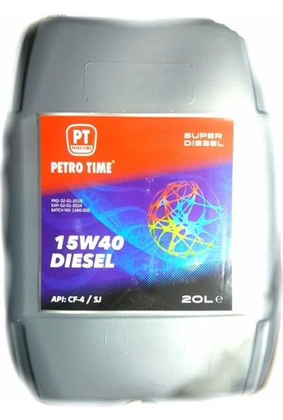 Petro Time Adoill 15W40 Süper Dizel 18 lt Motor Yağ