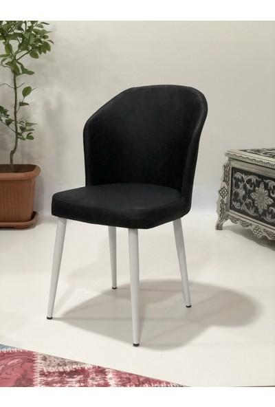Erva Stil Metal Ayaklı Sandalye