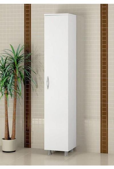 Dewoody Banyo Dolabı 5 Bölmeli Çok Amaçlı Dolap