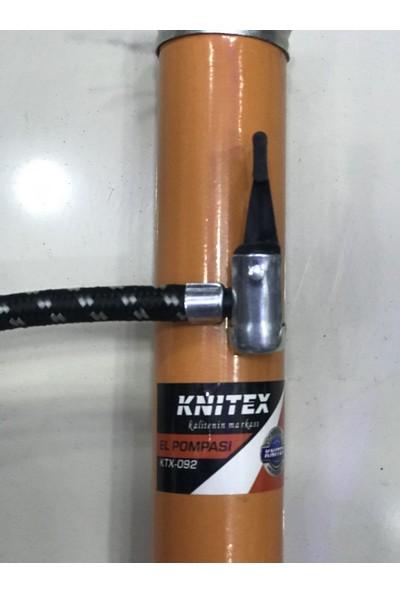 Knıtex KTX-092 Turuncu Aluminyum Göstergeli Ayaklı Pompa