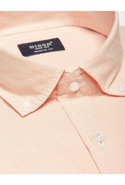 Bisse Erkek Uzun Kollu Yaka Düğmeli Spor Gömlek
