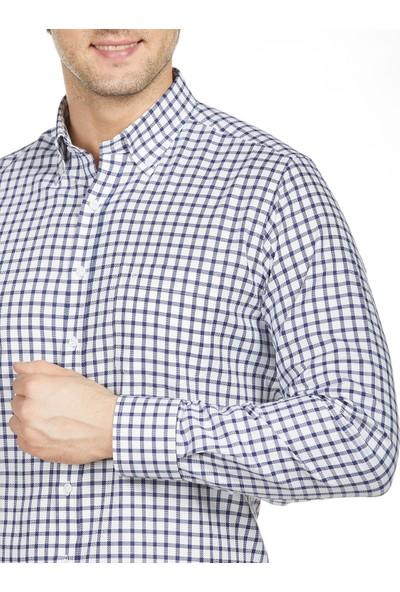 Bisse Erkek Regular Fit Kareli Spor Gömlek