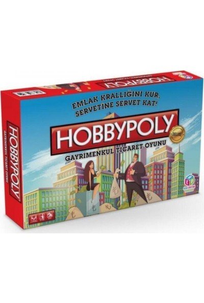 Hobi Eğitim Dünyası Hobbypoly Gayrimenkul Ticaret Oyunu