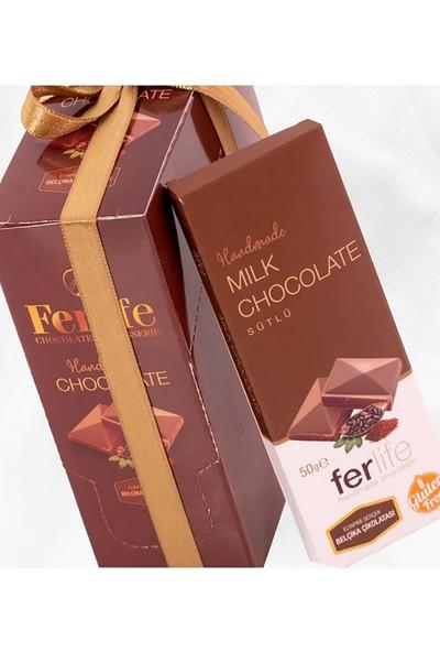 Ferlife Sütlü Tablet Çikolata 50 gr x 10