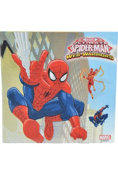 Crv Marvel Spiderman Kağıt Peçete Çift Katlı 20 Adet
