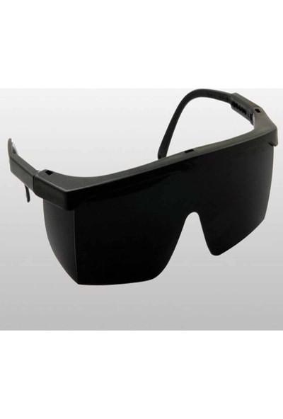 Baymax S400 Kaynak Iş Gözlüğü Siyah Cam