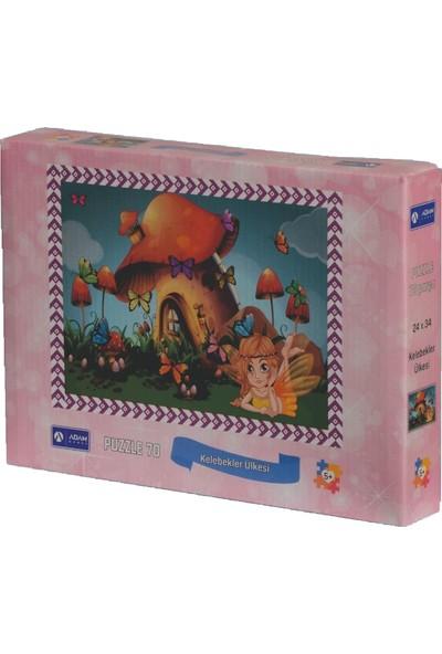 Adam Games Orman Gezisi Kutulu Puzzle 70 Parça