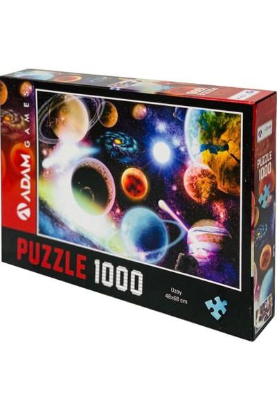 Adam Games Uzay 1000 Parça Puzzle