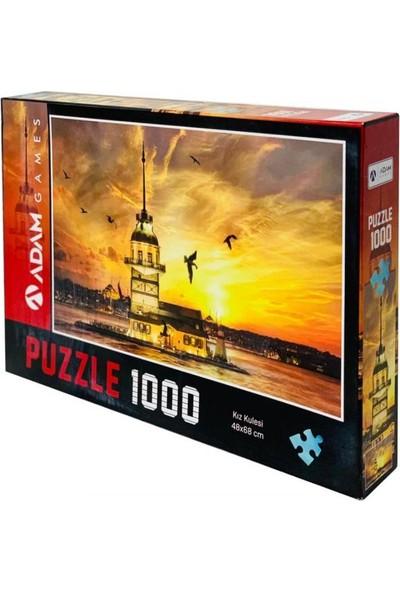 Adam Games Kız Kulesi 1000 Parça Puzzle