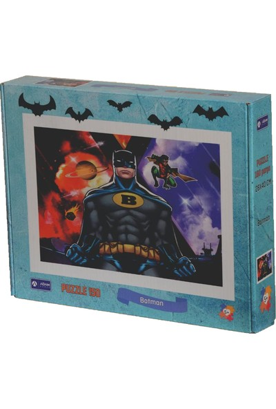 Adam Games Batman Kutulu Puzzle 150 Parça