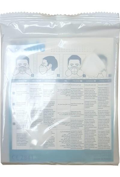 Imsafe Maske 10'lu N95 Ffp2 Nr Özellikli Sertifikalı