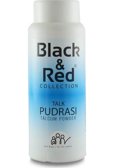 Black&red Collectıon Talk Pudra Talcum Powder
