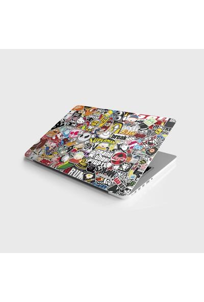 Jasmin Laptop Sticker Notebook Kaplama Etiketi Sticker Bomb