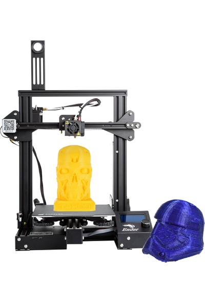 Creality 3D Ender-3 Pro Yüksek Hassasiyetli 3D Yazıcı Kapanma ve Sürekli Baskı 220 x 220 x 250 mm (Yurt Dışından)