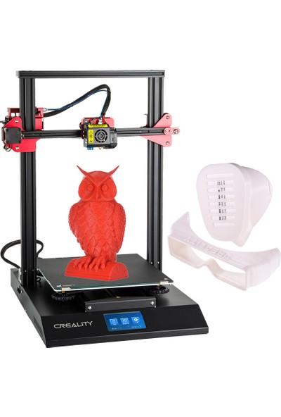 Creality CR-10S Pro Yükseltilmiş Otomatik Tesviye 3D (Yurt Dışından)