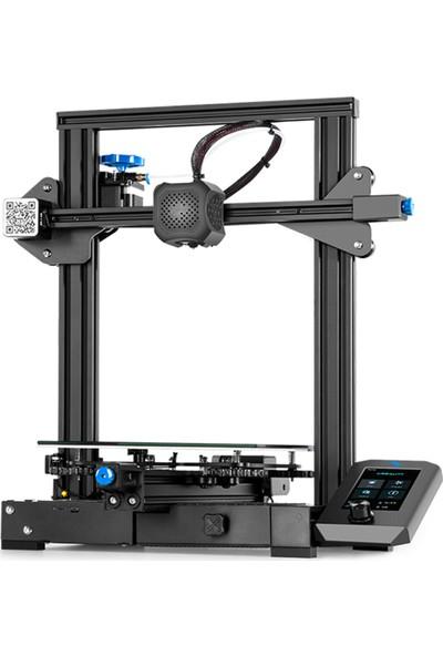 Creality 3D Ender-3 V2 3D Yazıcı Tek Parça Gövde Yapısı Çoklu Optimize Edilmiş Tasarım 220 x 220 x 250 mm (Yurt Dışından)
