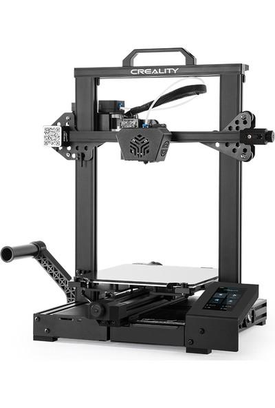 Creality 3D Cr-6 Se Masaüstü Yüksek Hassasiyetli 3D Yazıcı Sessiz Anakart 235 x 235 x 250 mm (Yurt Dışından)