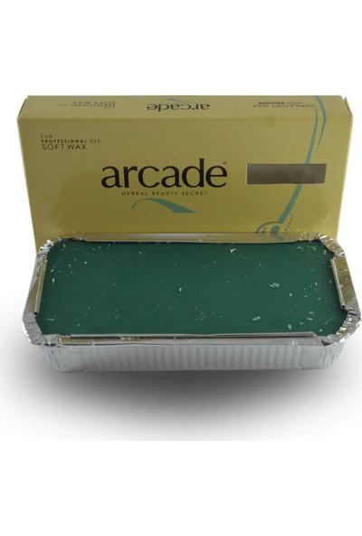 Arcade Azulen Bitkisi Içeren Kalıp Sir Ağda Yeşil