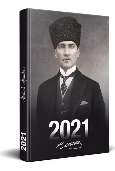 Halk Kitabevi 2021 Kalpaklı Atatürk Ajandası Tekli