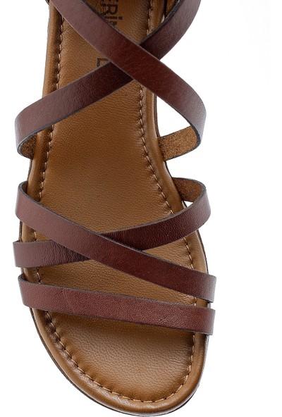 Derimod Kadın Deri Sandalet