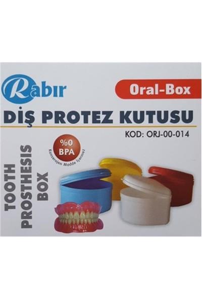 Rabır Diş Protez Kutusu