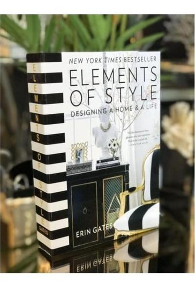 İray Home Decor Elements Dekoratif Kitap Kutusu