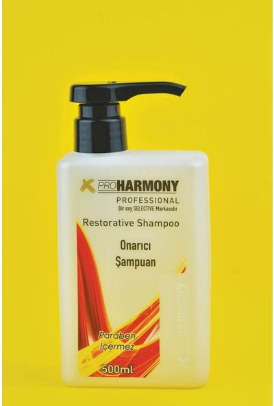 x Pro Harmony Yıpranmış Saçlar Için Onarıcı Şampuan 500 ml