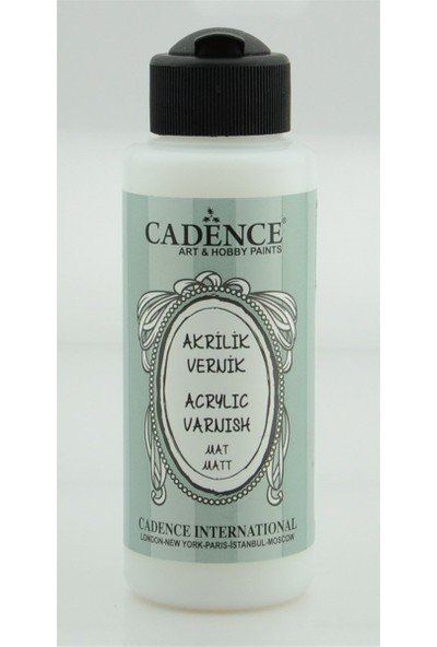Cadence Su Bazlı Akrilik Vernik Mat 120 ml