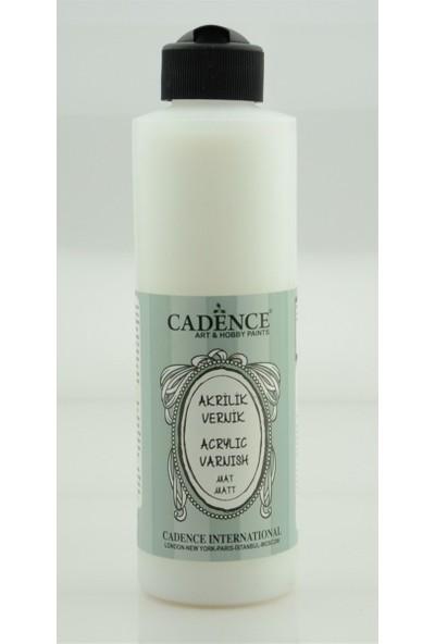 Cadence Su Bazlı Akrilik Vernik Mat 250 ml
