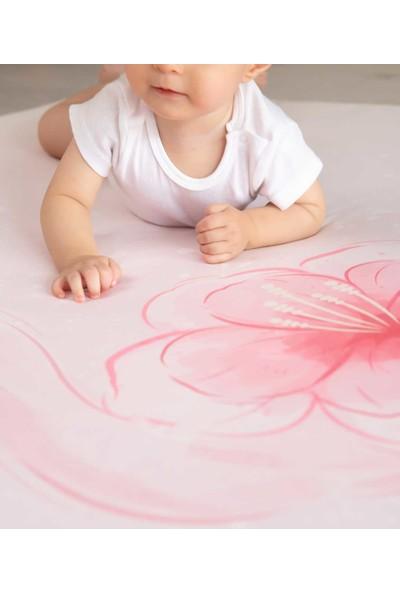 Baby Z Flamingo Desenli Büyük Kare Oyun Matı