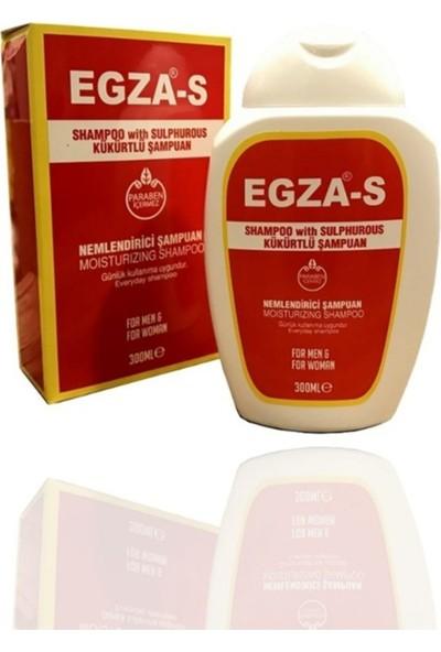 Egza-S Kükürtlü Kepek ve Kaşıntı Şampuanı 300 ml