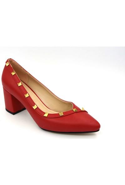 Park Moda Ökçeli Kadın Ayakkabı