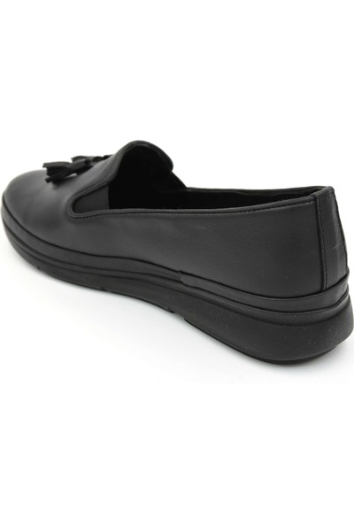 Parkmoda A8492 Deri Günlük Kadın Ayakkabı