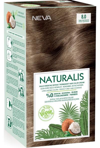 Neva Naturalis Saç Boyası 8.0 Yoğun Açık Kumral %100 Vegan