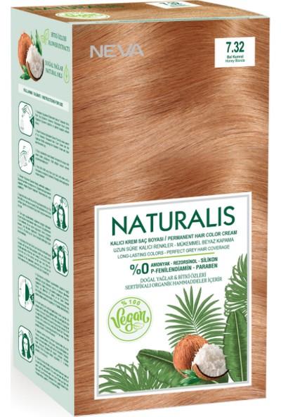Neva Naturalis Saç Boyası 7.32 Bal Kumral %100 Vegan