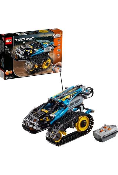 LEGO Technic 42095 Uzaktan Kumandalı Gösteri Yarışçısı Yapım Seti (324 Parça) - Çocuk ve Yetişkin için Koleksiyonluk Oyuncak Araba