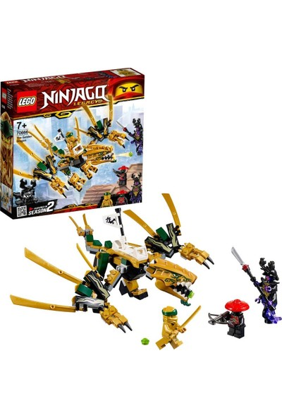 LEGO Ninjago 70666 Altın Ejderha