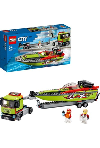 LEGO® City 60254 Yarış Teknesi Taşıyıcı
