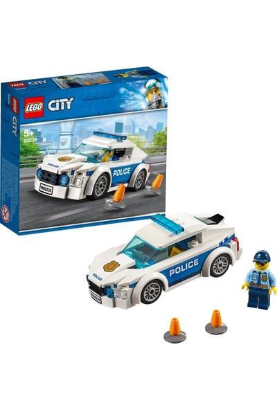 LEGO® City 60239 Polis Devriye Arabası Yapım Seti - Çocuk Oyuncak Araba