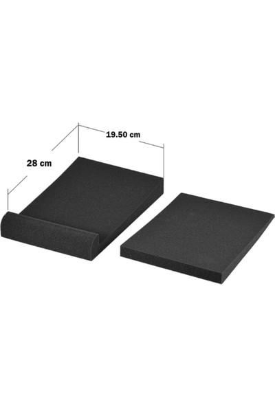Midex Pad-8X 8'' için Stüdyo Referans Monitör İzolasyon Pad Adet (28x19.5x4 cm )